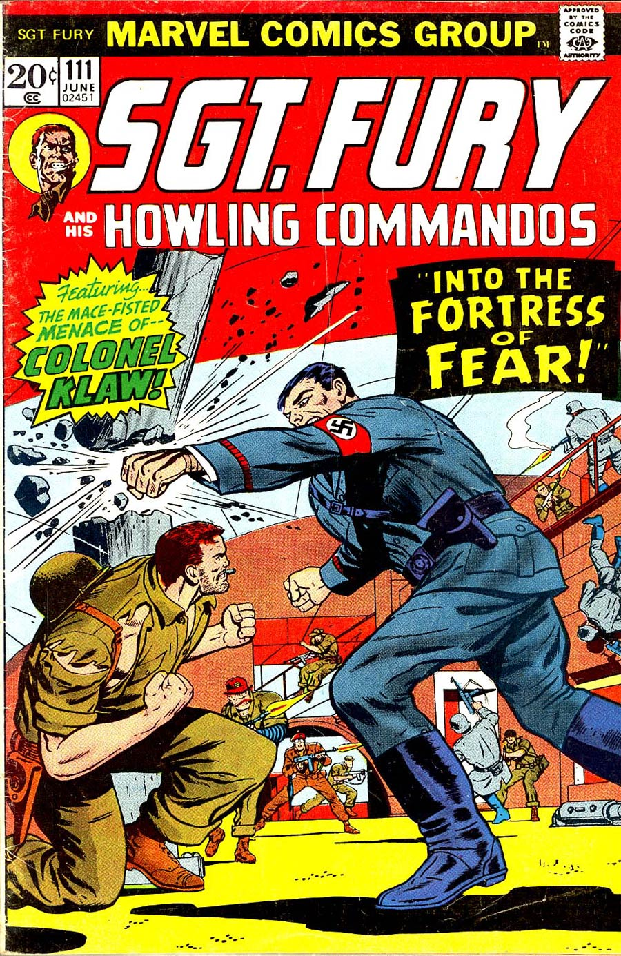 Sgt. Fury & His Howling Commandos #111
