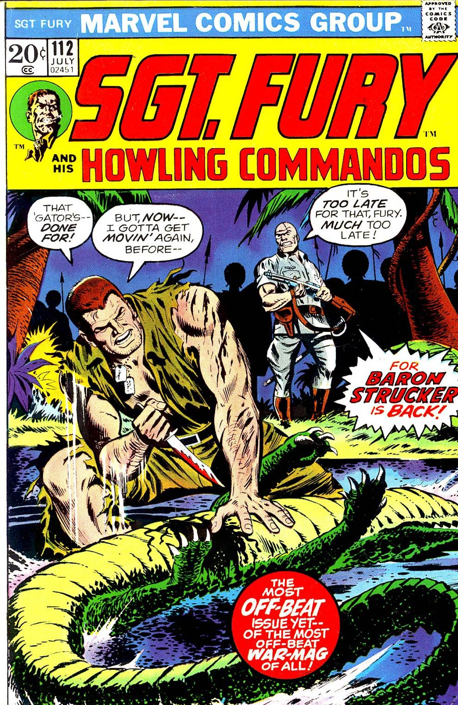 Sgt. Fury & His Howling Commandos #112
