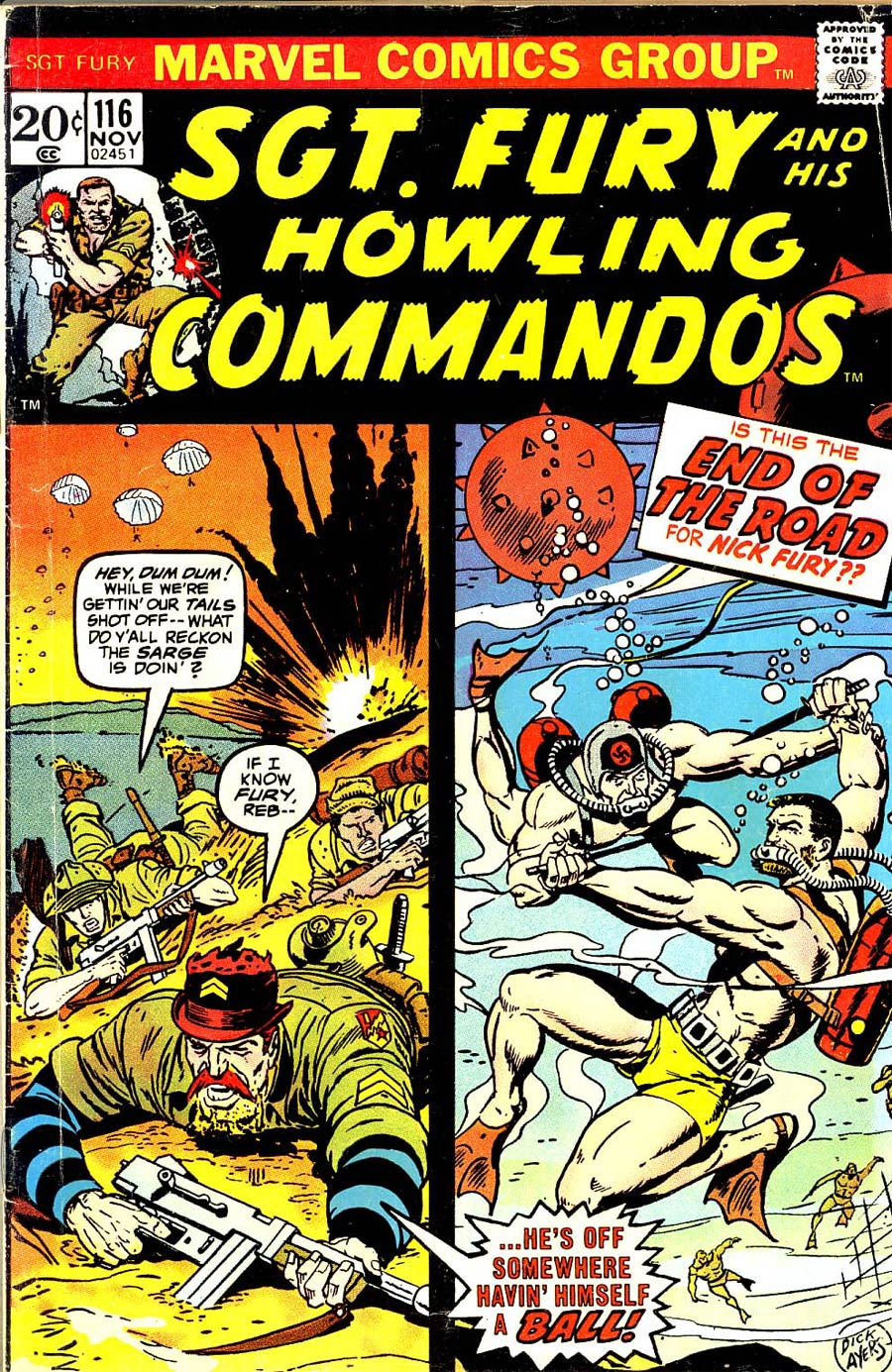 Sgt. Fury & His Howling Commandos #116