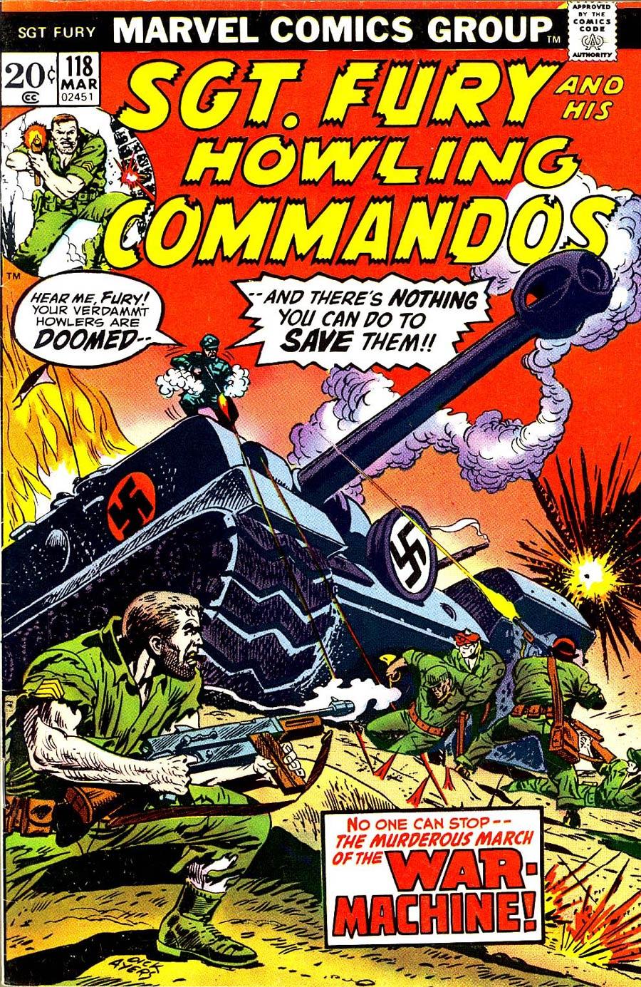 Sgt. Fury & His Howling Commandos #118