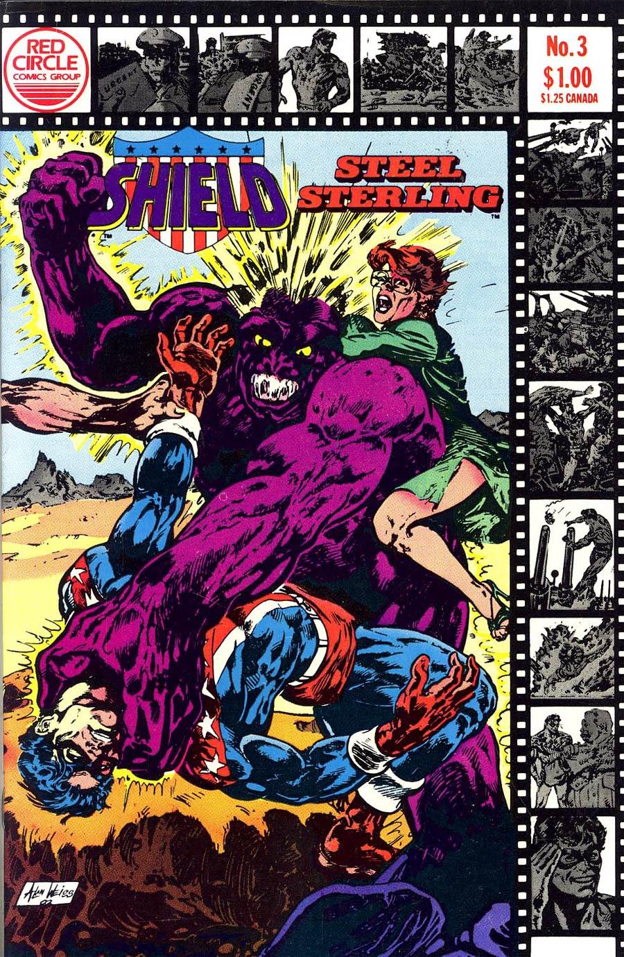 Shield #3 (Steel Sterling 1983)