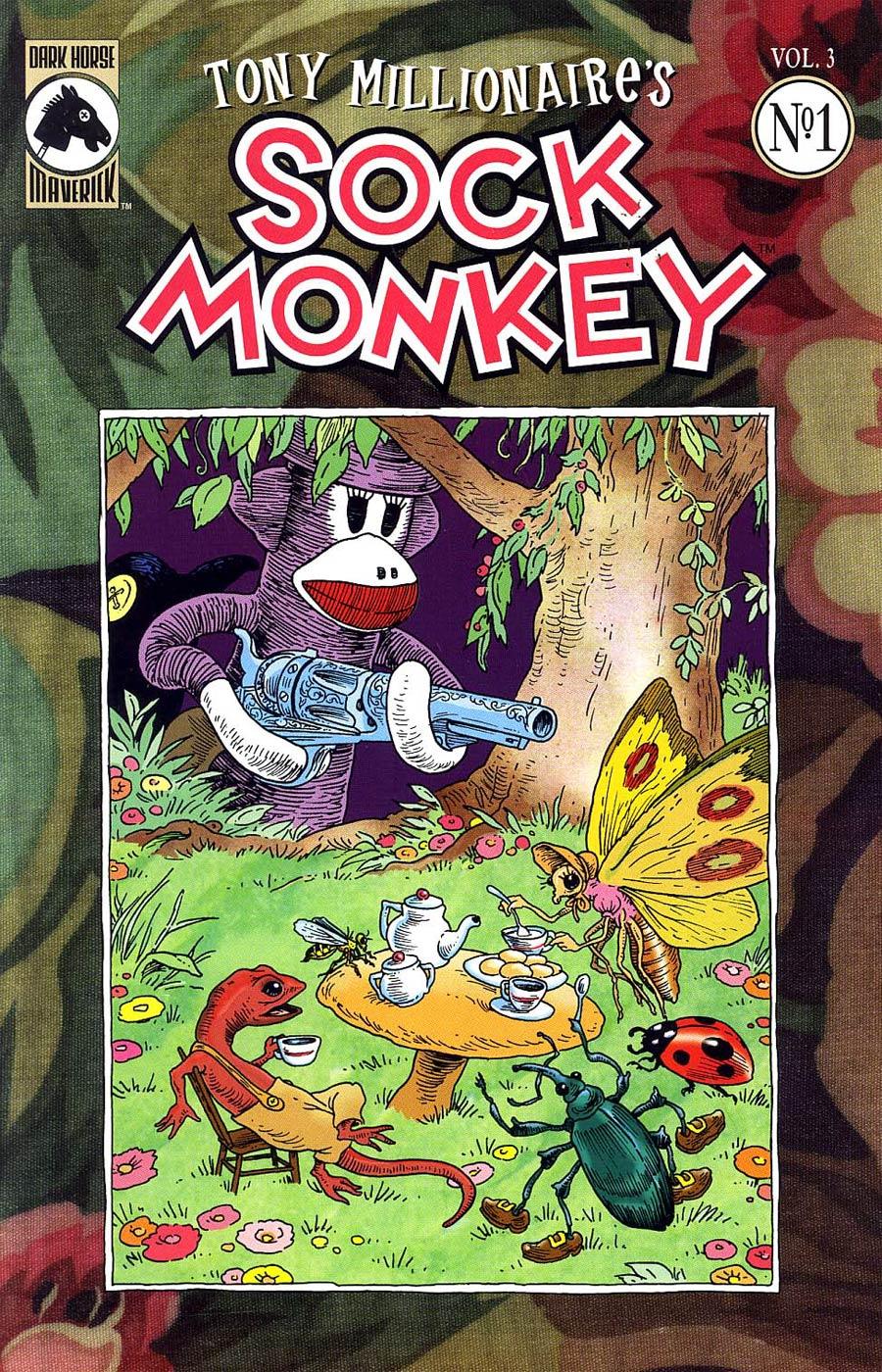 Sock Monkey Vol 3 #1