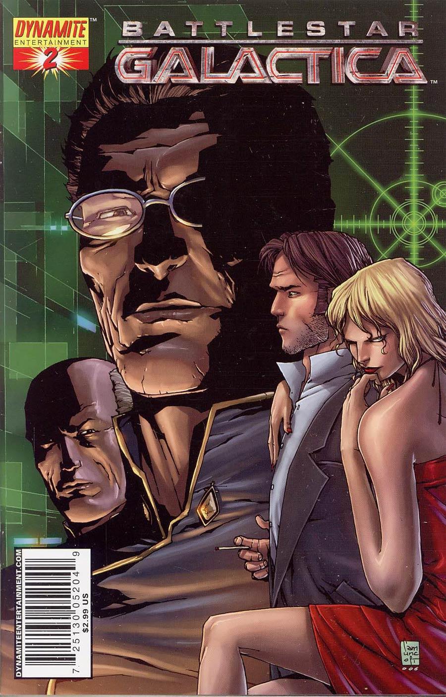 Battlestar Galactica Vol 4 #2 Cover C Camuncoli