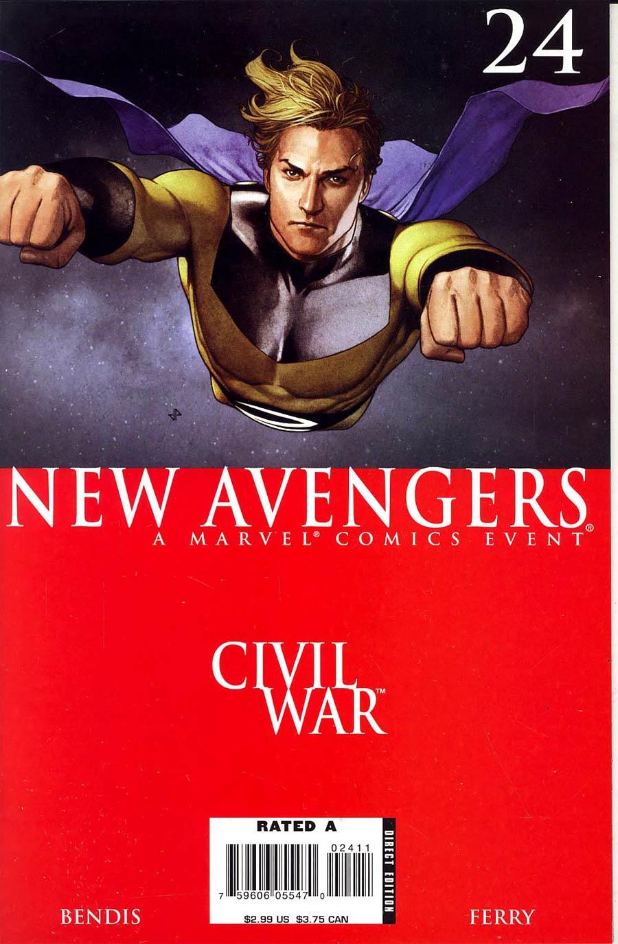 New Avengers #24 (Civil War Tie-In)