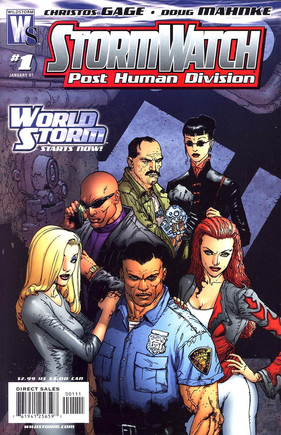 Stormwatch PHD #1 Cover A Regular