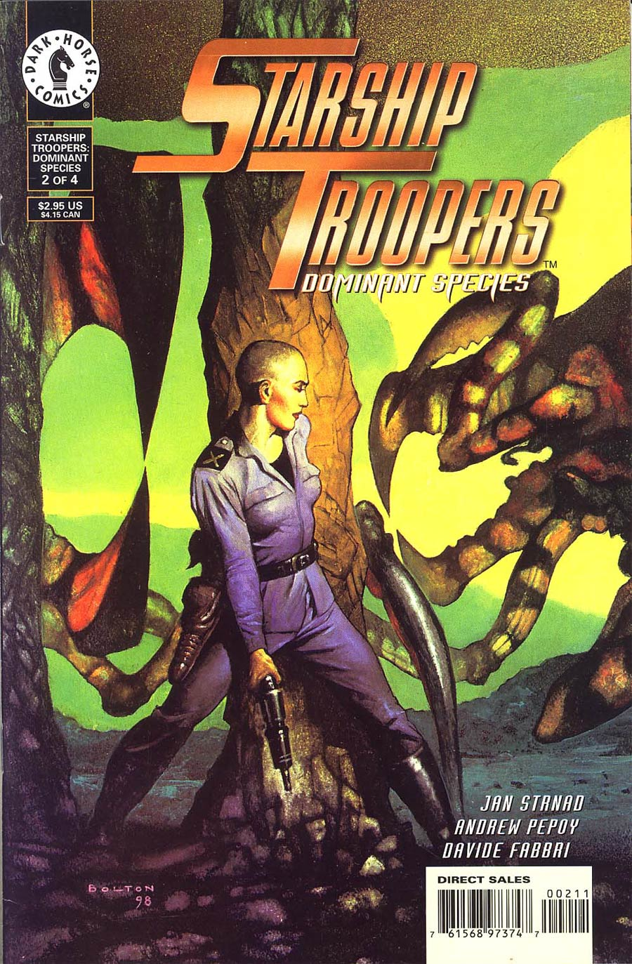 Starship Troopers Dominant Species #2