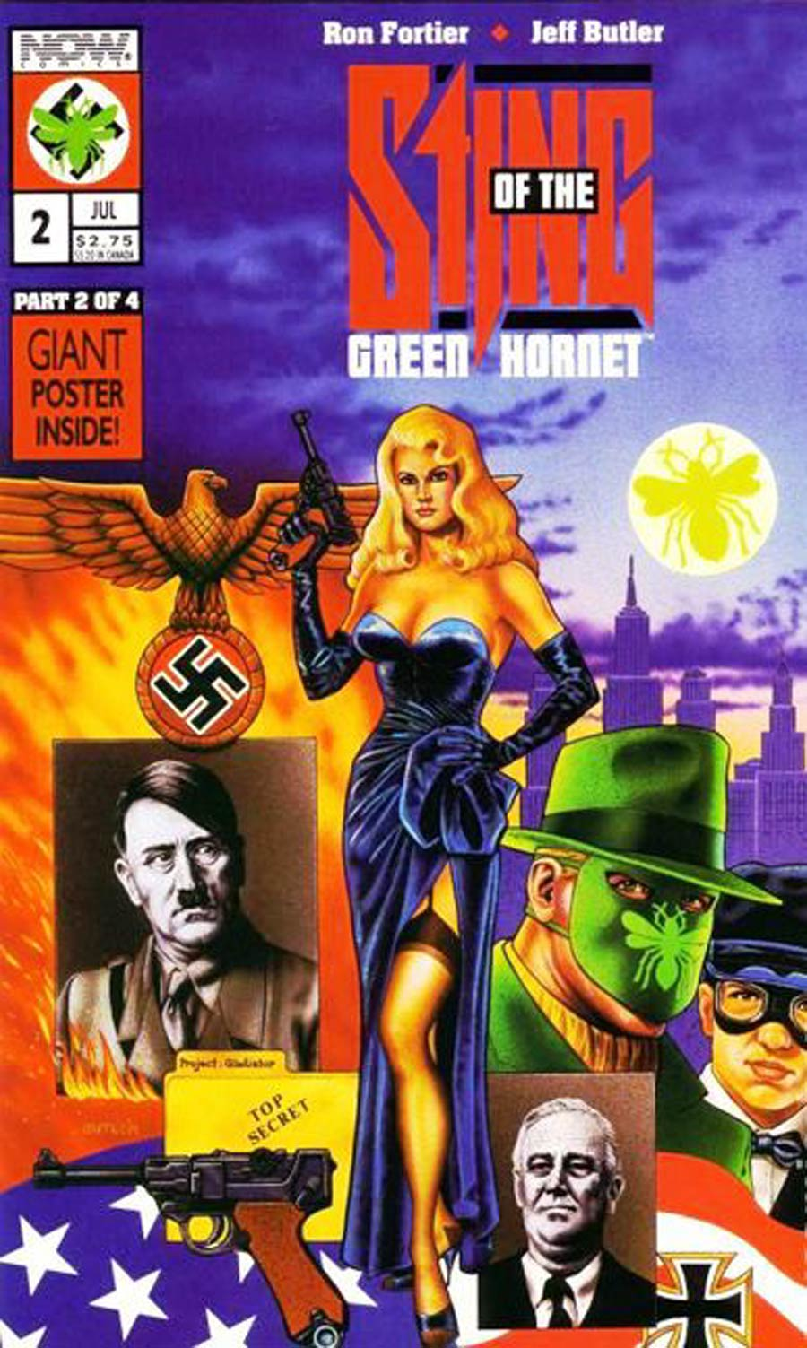 Sting Of The Green Hornet #2 Cover A Collectors Edition Polybagged