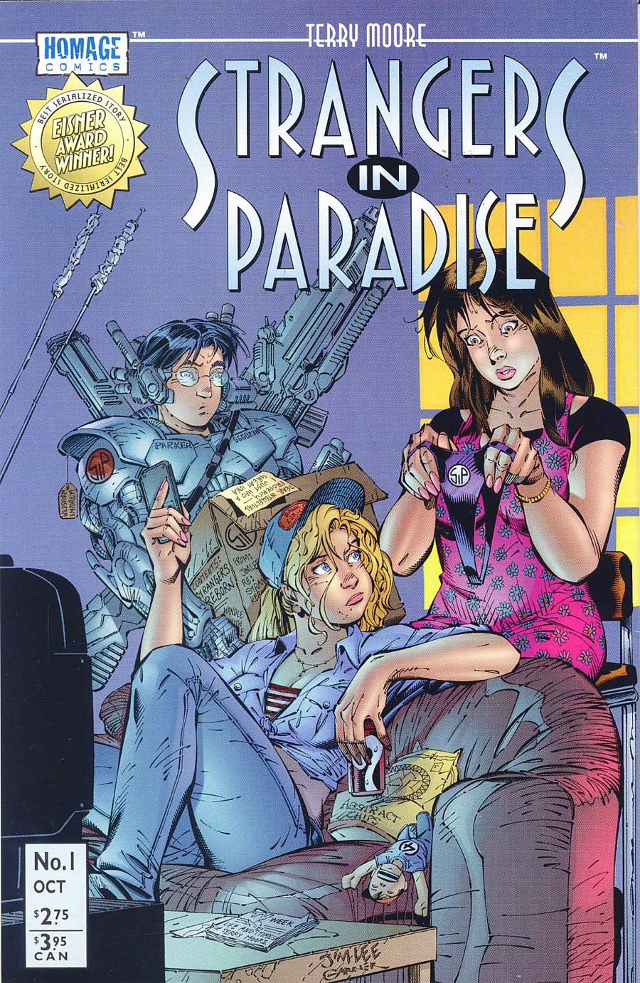 Strangers In Paradise Vol 3 #1 Cover C Variant Jim Lee Cover