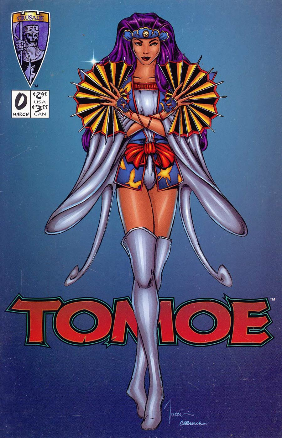 Tomoe #0 Regular Billy Tucci Cover