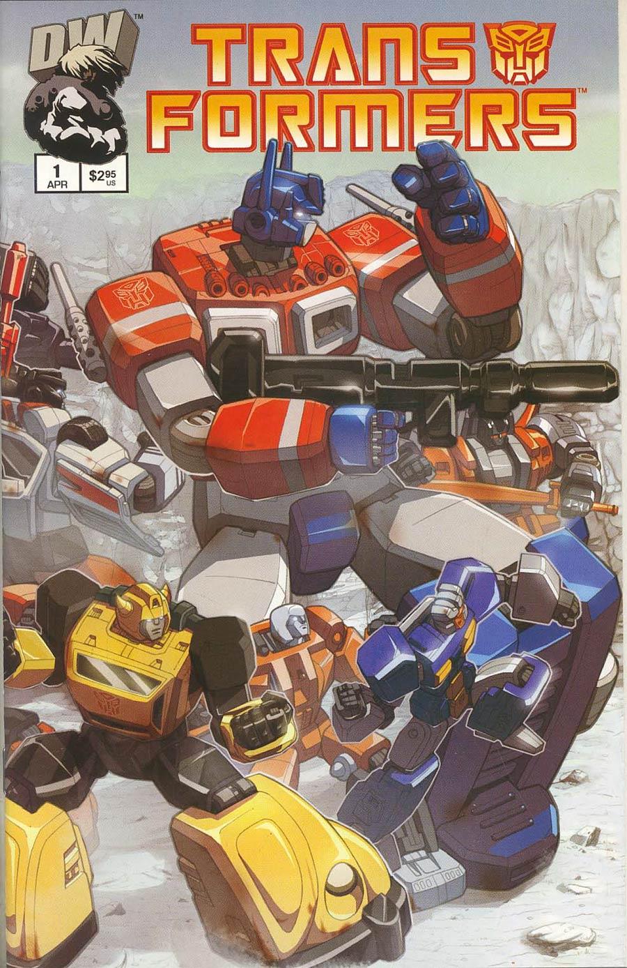 Transformers Generation 1 Vol 2 #1 Cvr A Autobot