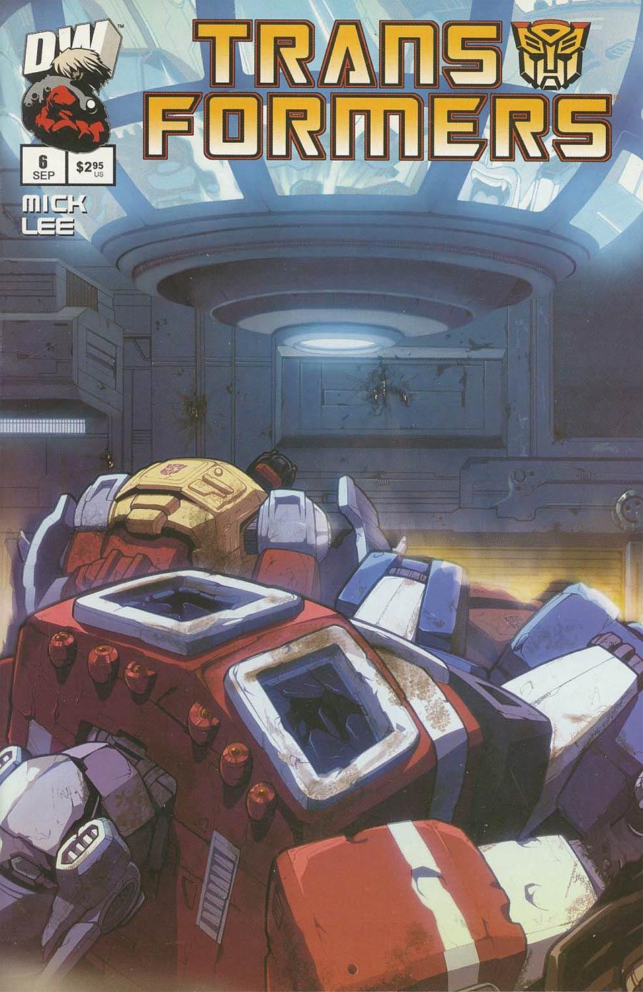 Transformers Generation 1 Vol 2 #6 Autobot Cvr