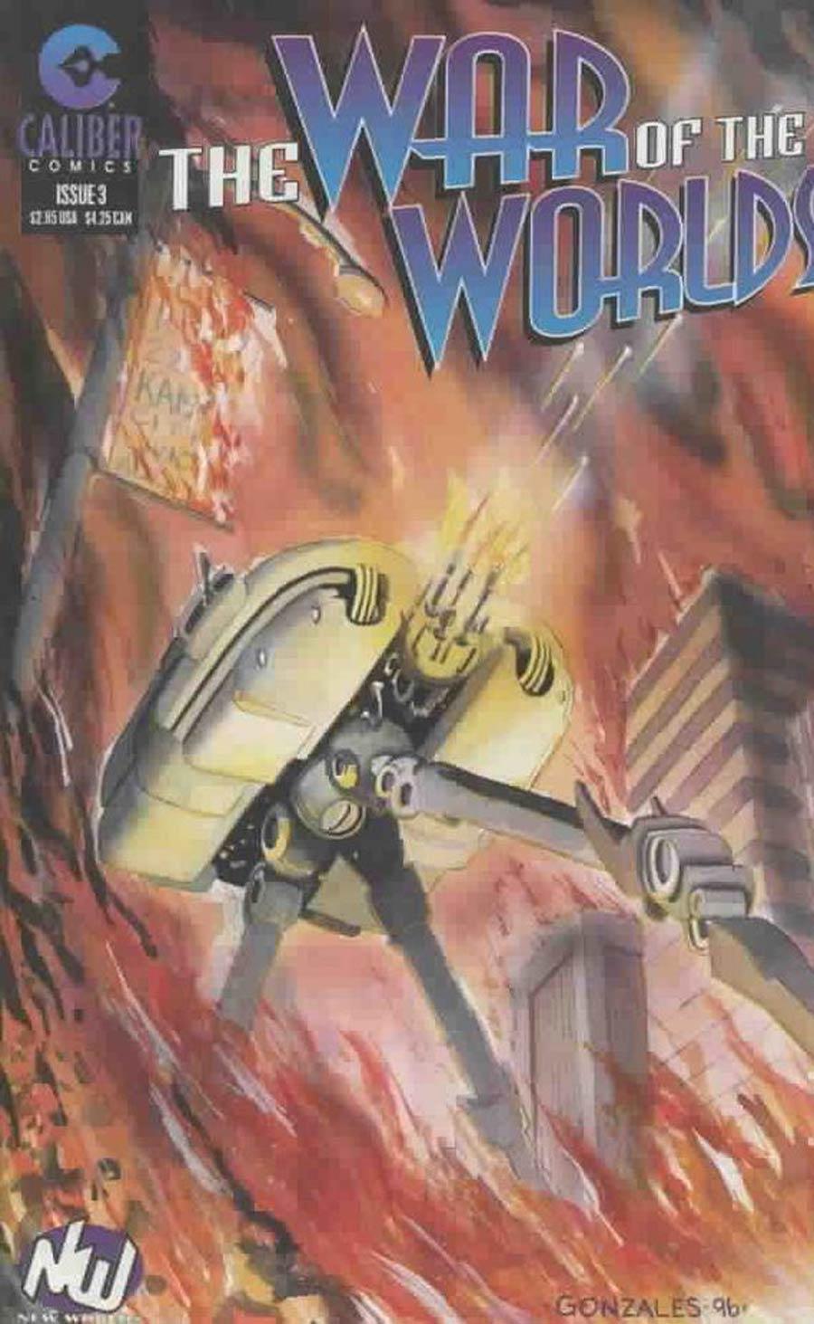 War Of The Worlds (Caliber) #3