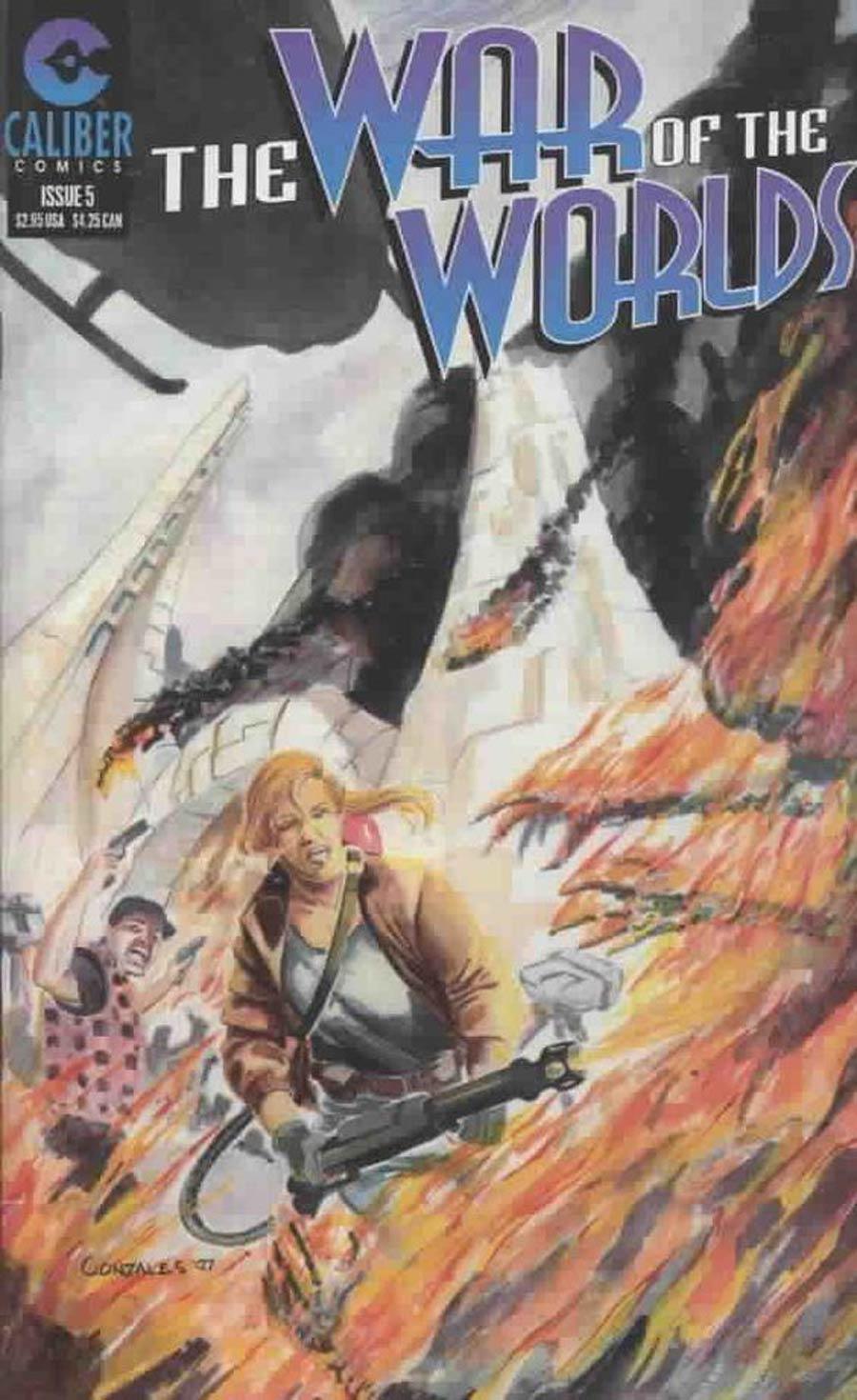 War Of The Worlds (Caliber) #5