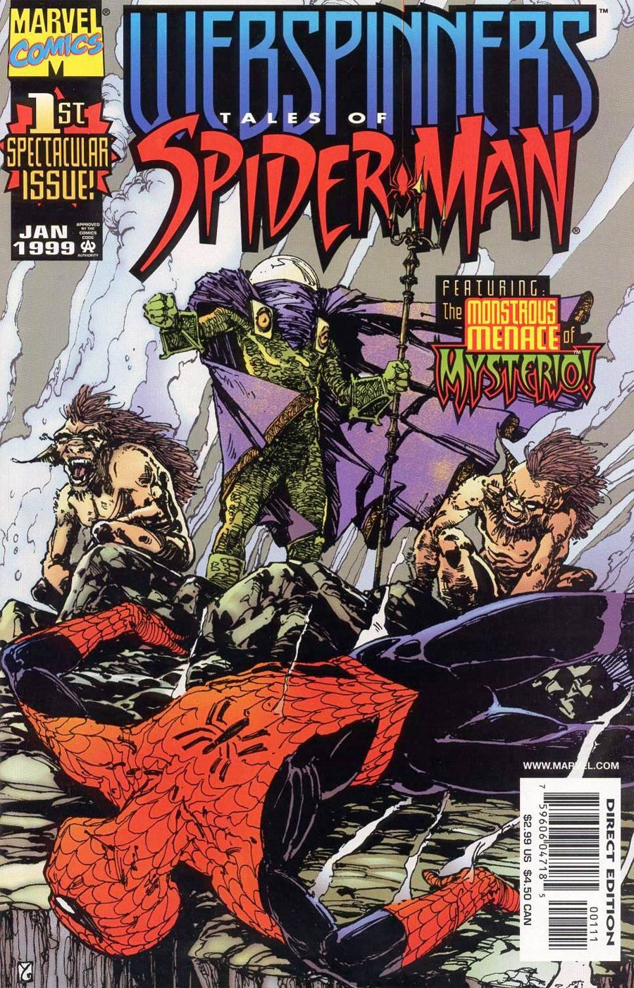 Webspinners Tales Of Spider-Man #1 Cover A