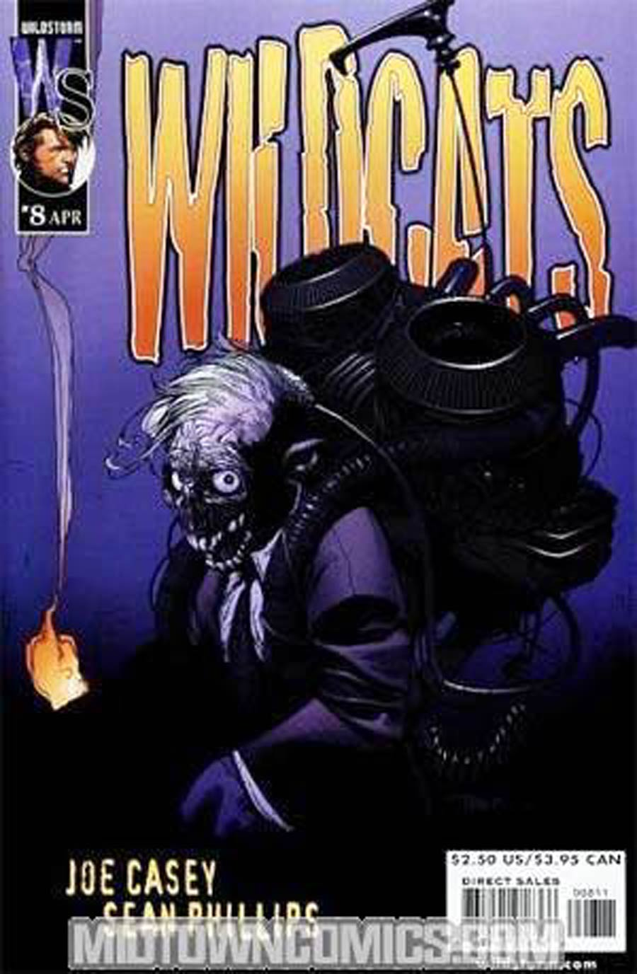 Wildcats Vol 2 #8 Cover A Travis Charest Cover