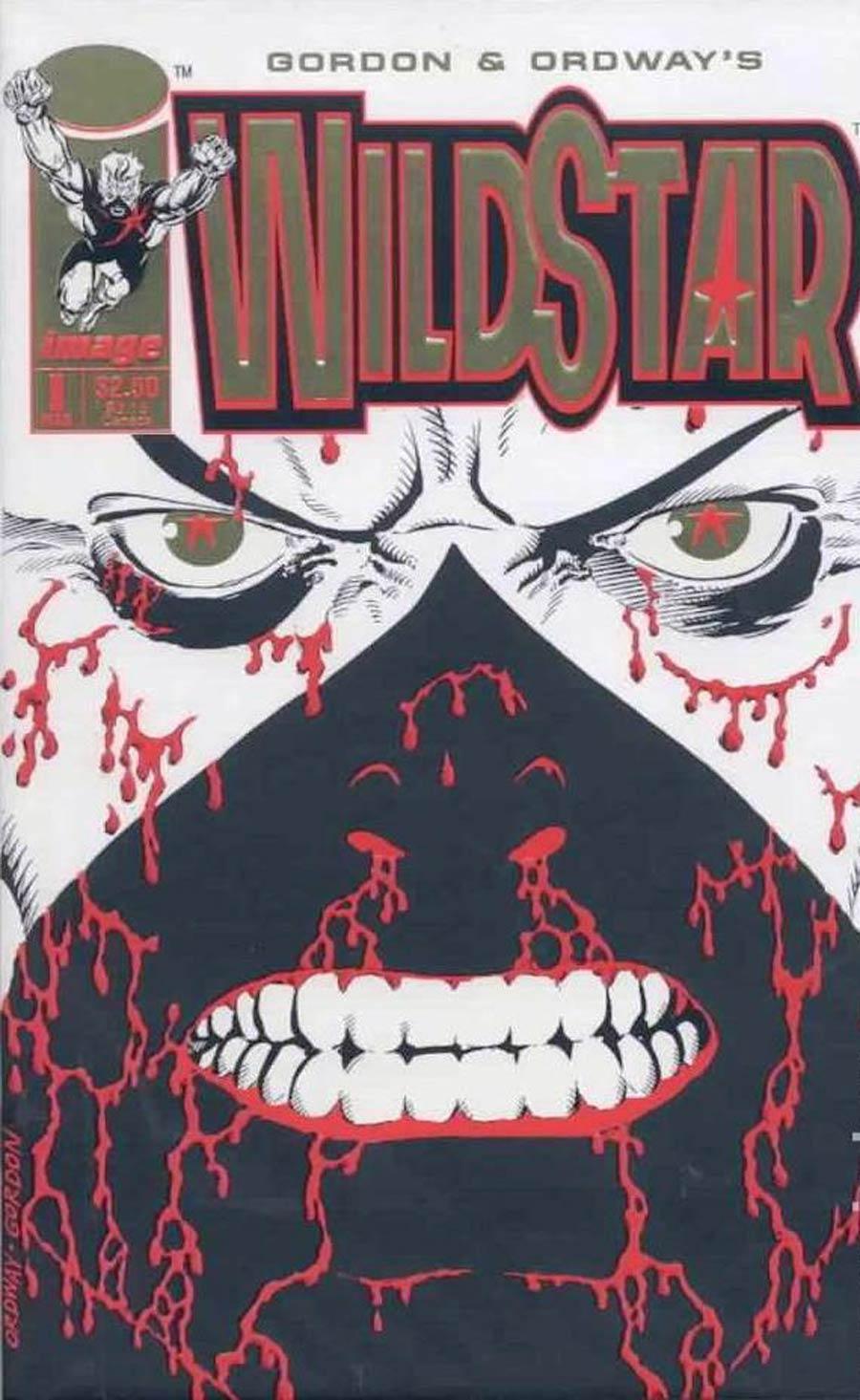 Wildstar Sky Zero #1 Cover B Gold Foil Variant
