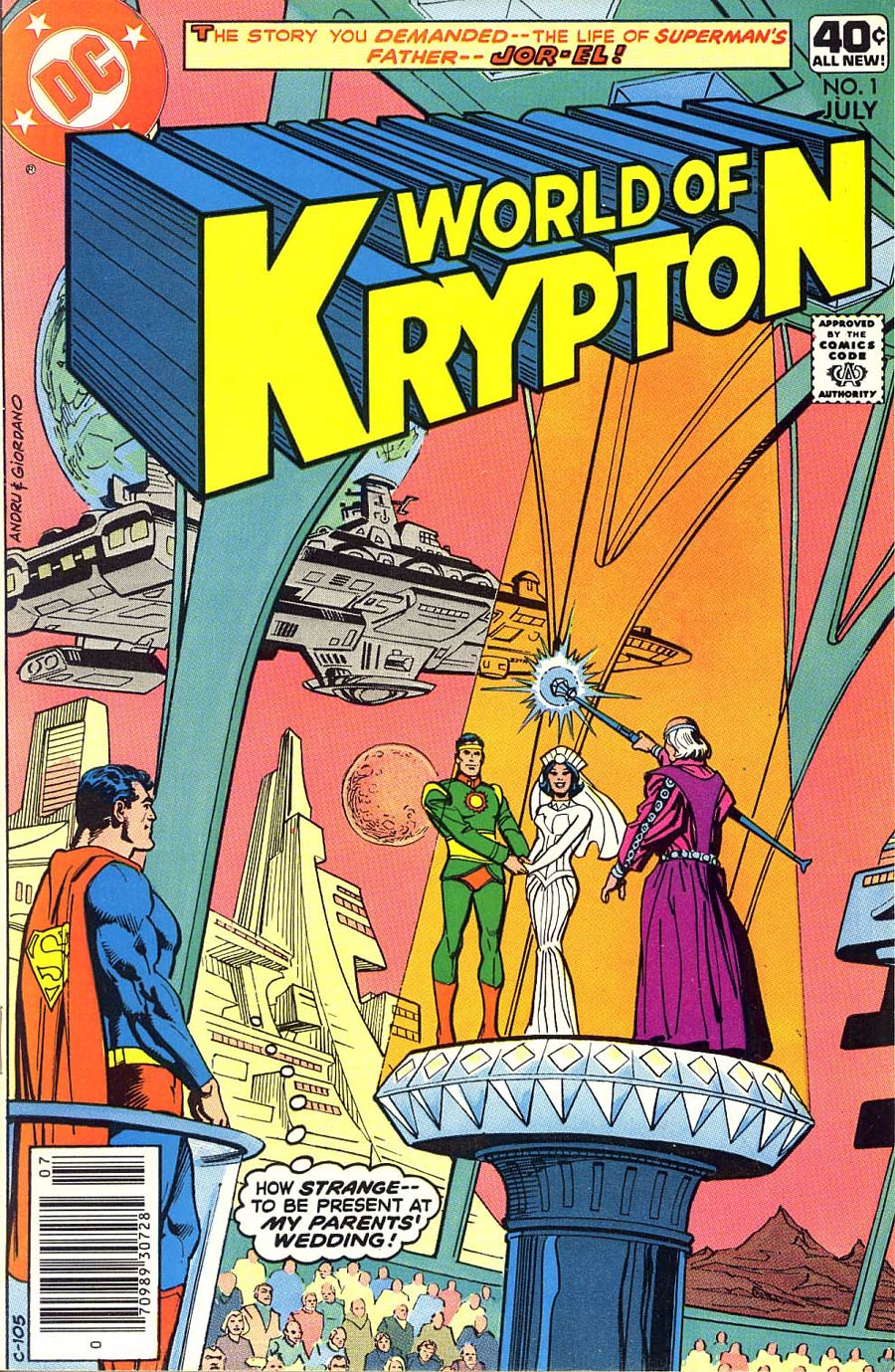 World Of Krypton Vol 1 #1