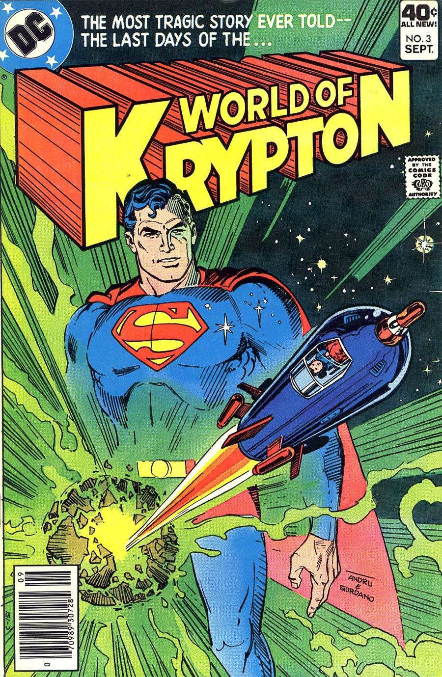 World Of Krypton Vol 1 #3