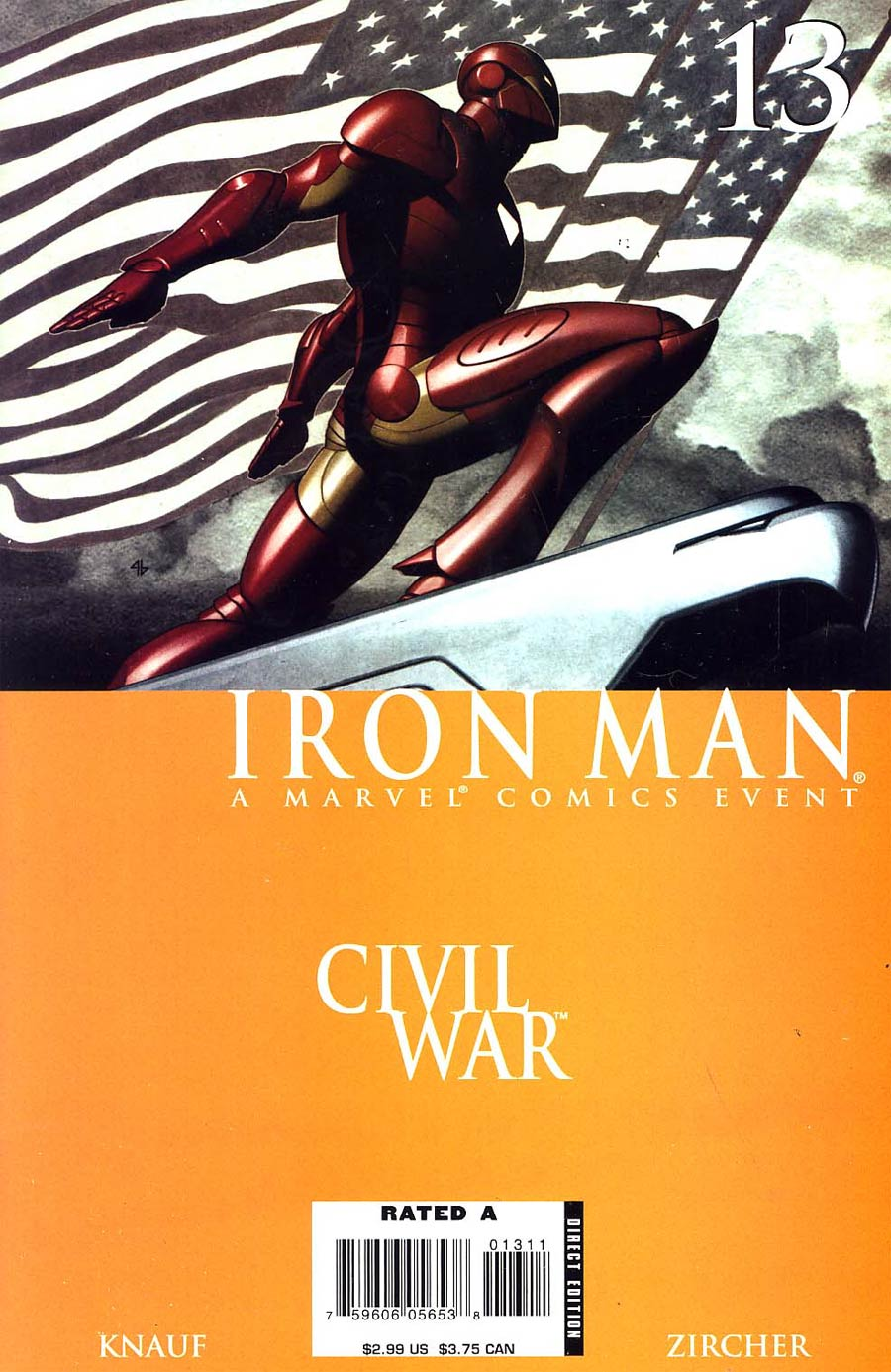 Iron Man Vol 4 #13 (Civil War Tie-In)