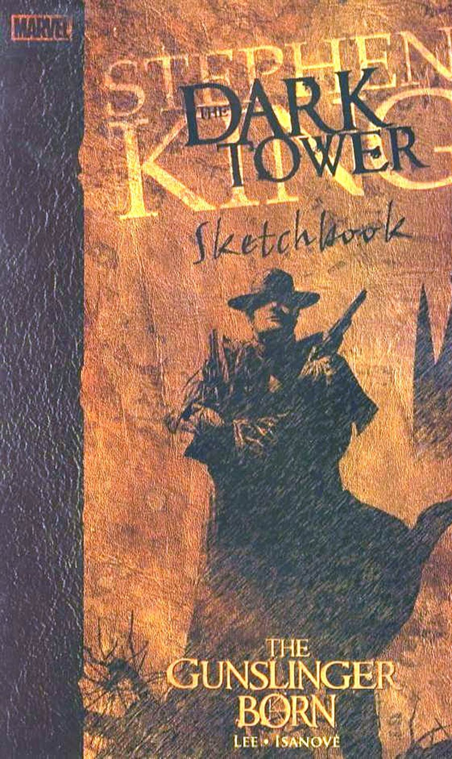 Dark Tower Gunslinger Born Sketchbook