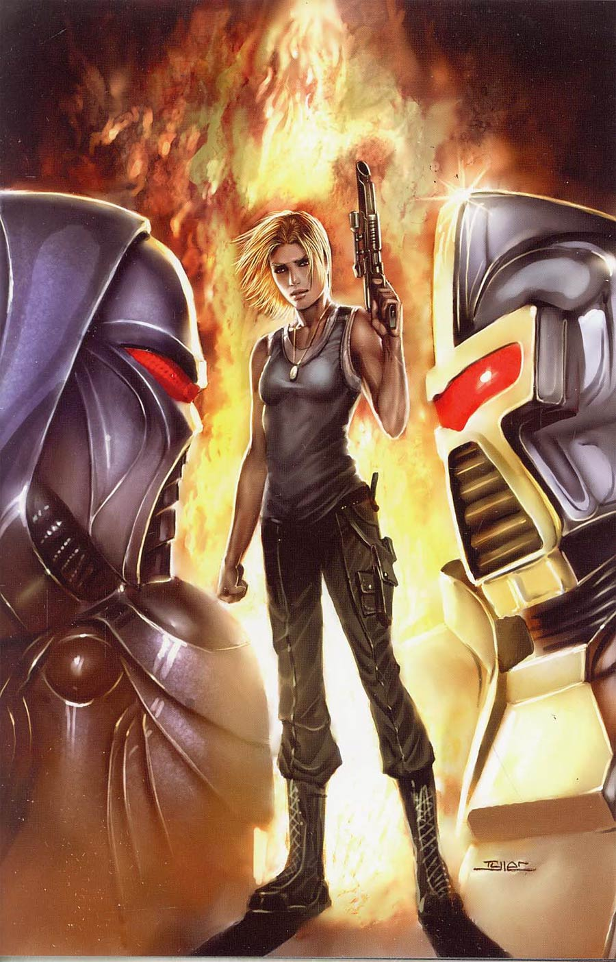 Battlestar Galactica Vol 4 #4 Cover E Incentive Kirkman Virgin Cover