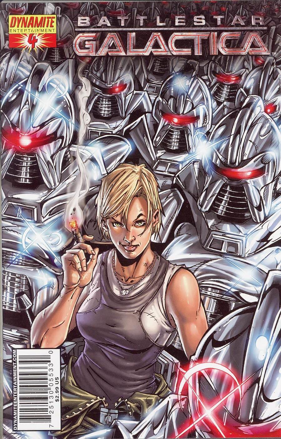 Battlestar Galactica Vol 4 #4 Cover B Nigel Raynor