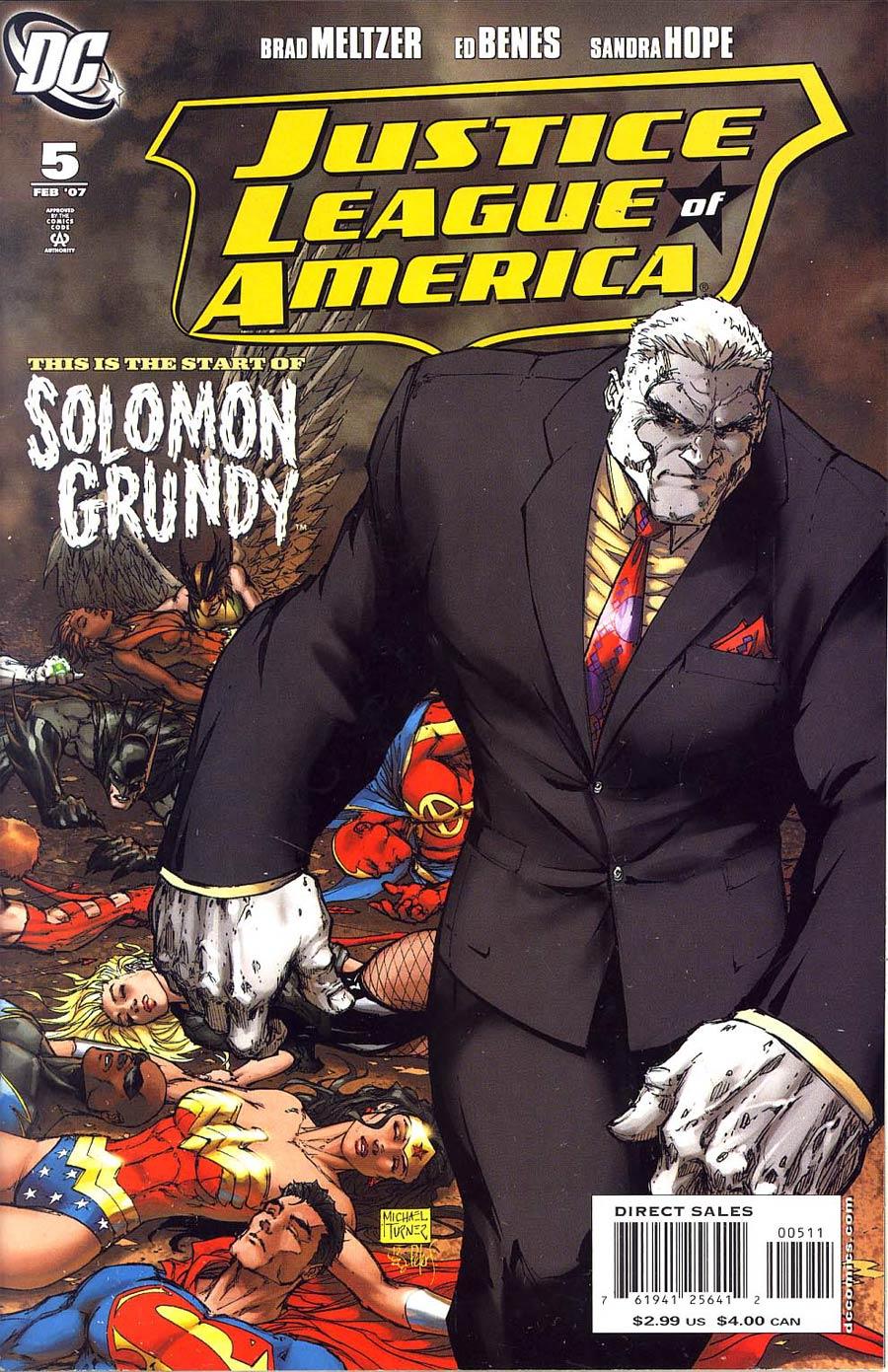 Justice League Of America Vol 2 #5 Regular Michael Turner Cover