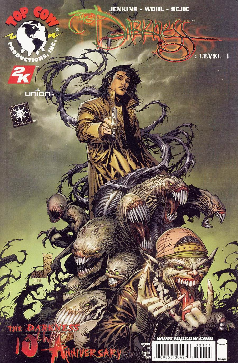 Darkness Level 1 Cover C Marc Silvestri Cover