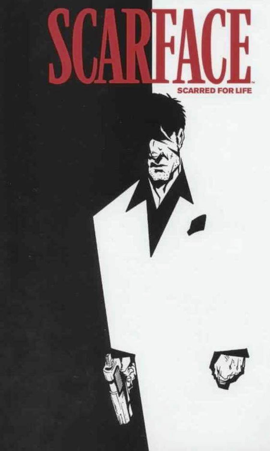 Scarface Scarred For Life #1 Cover C Incentive Dave Crossland DVD Recreation Cover