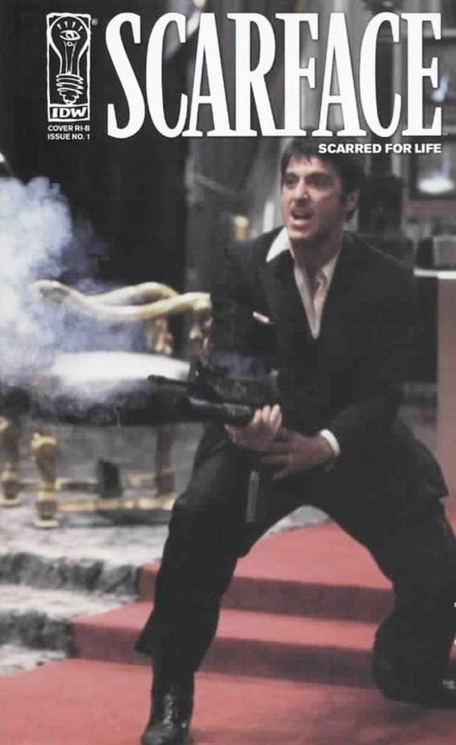 Scarface Scarred For Life #1 Cover D Incentive Movie Photo Cover