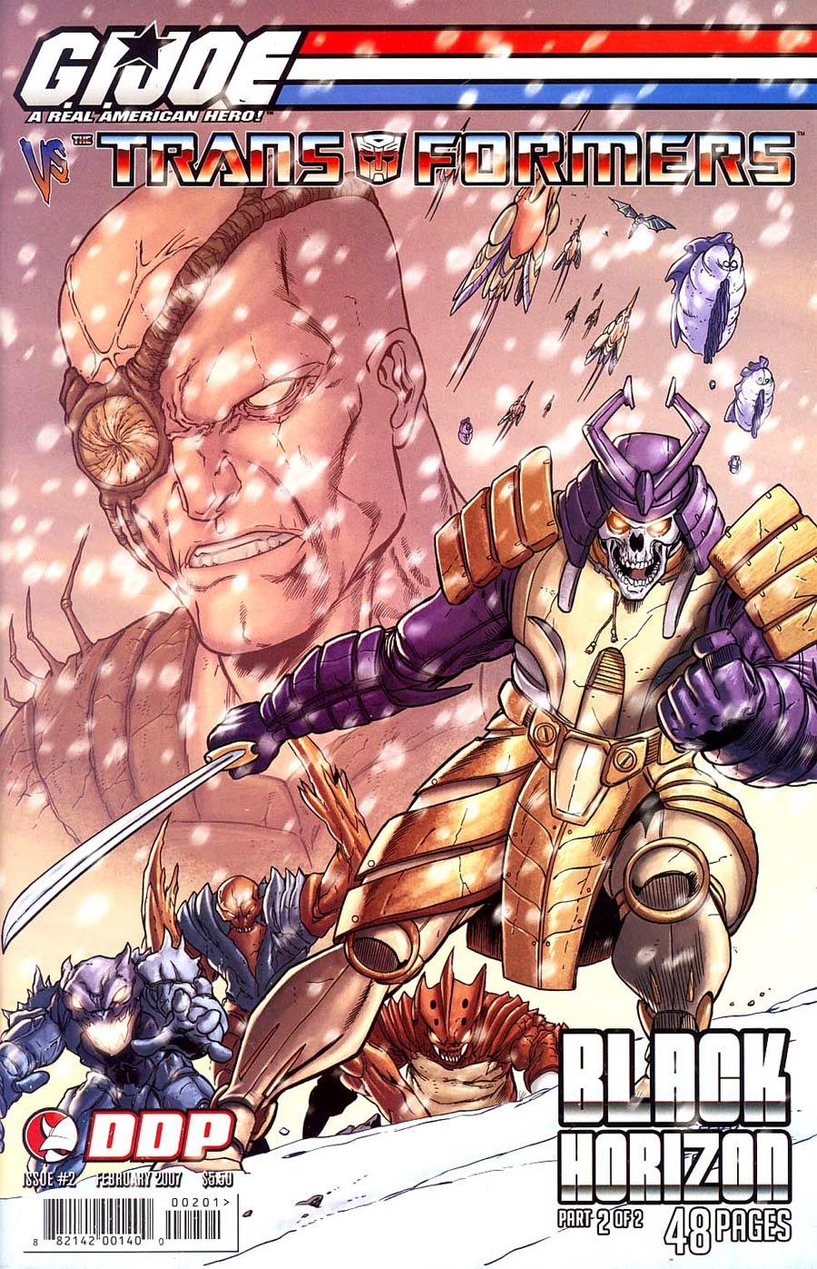 GI Joe vs Transformers Vol 4 Black Horizon #2 Cvr A
