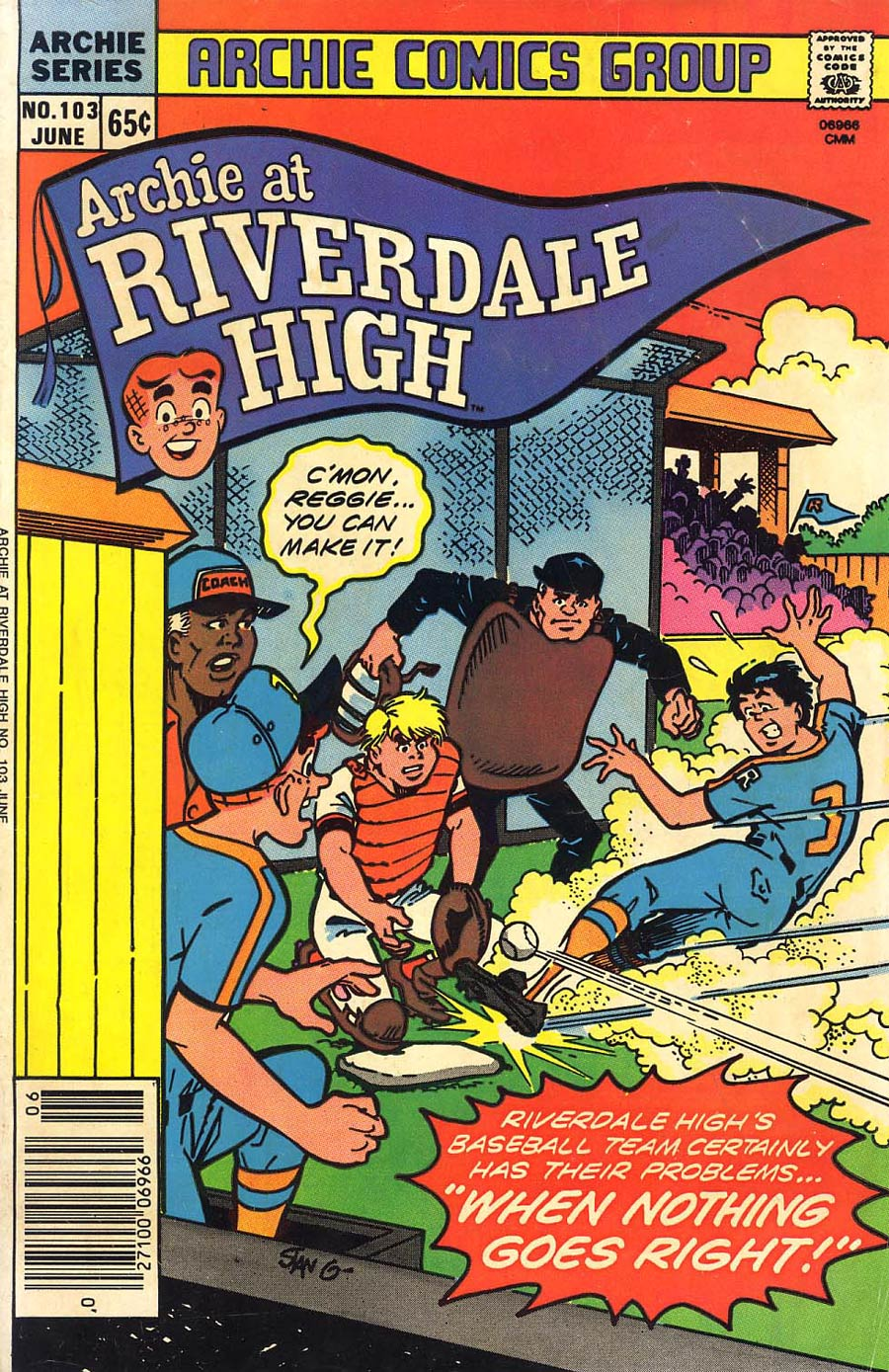 Archie At Riverdale High #103