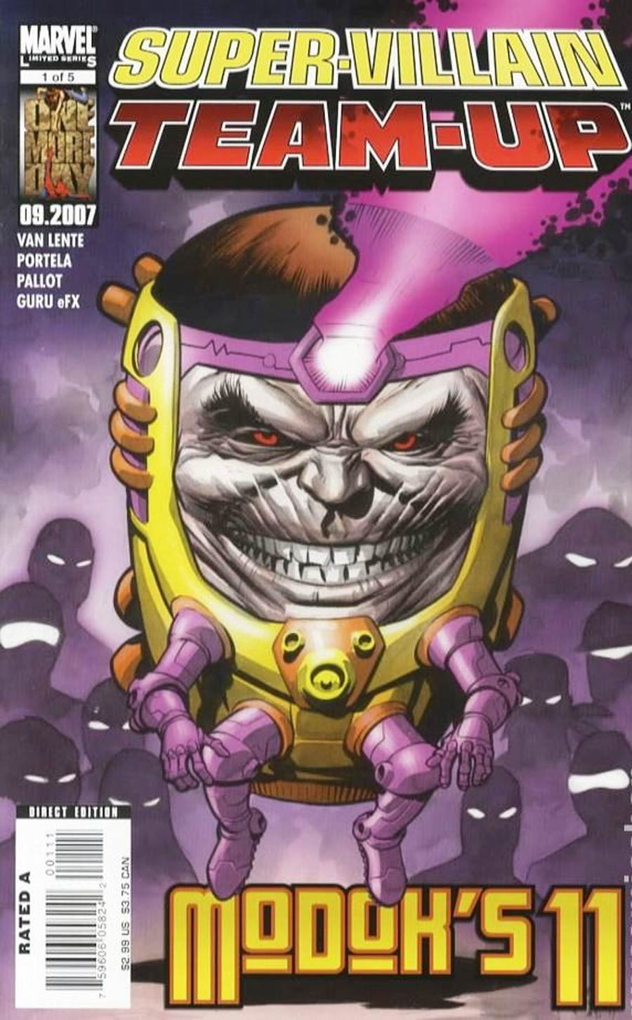 Super-Villain Team-Up MODOKs 11 #1
