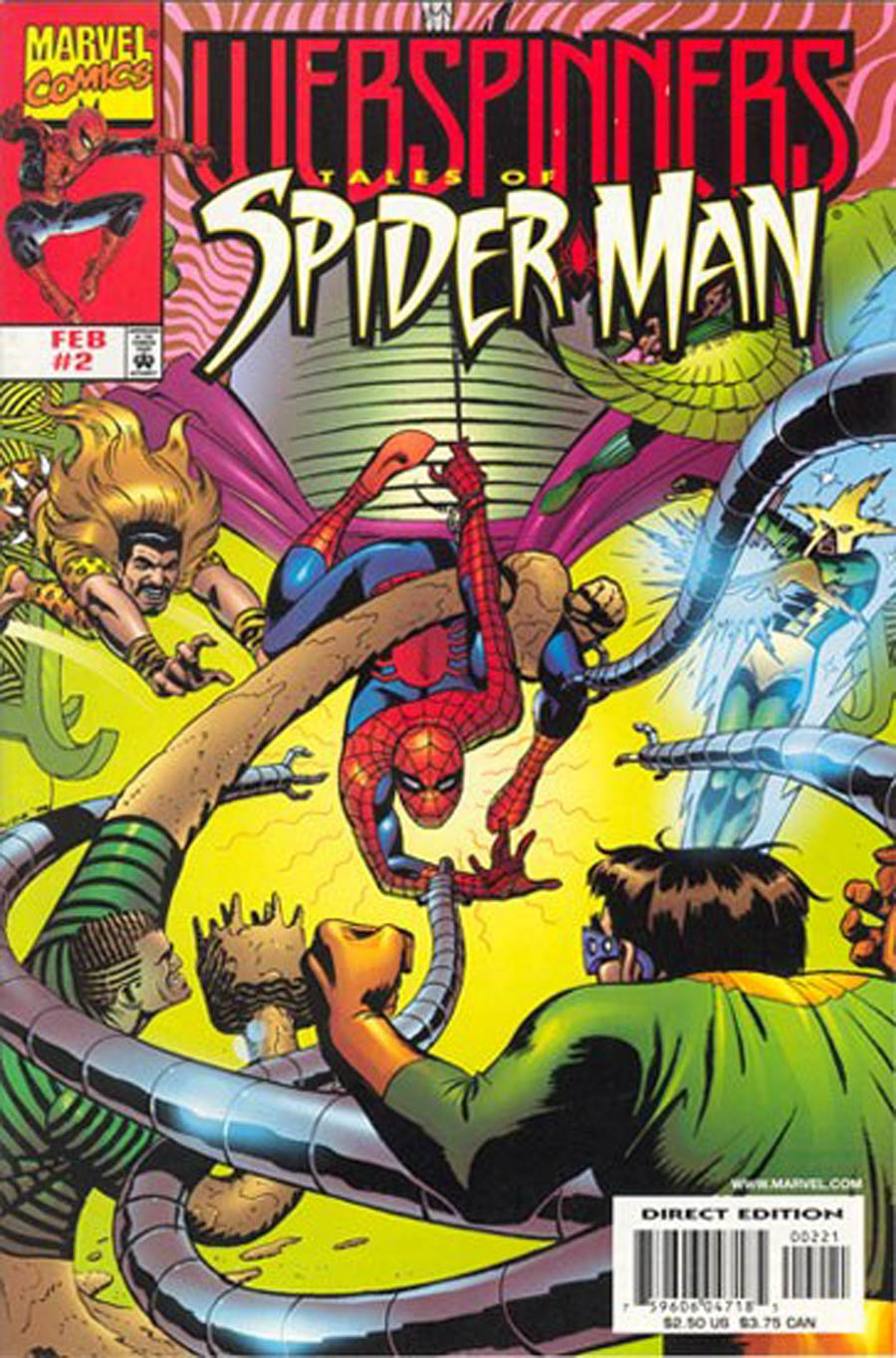 Webspinners Tales Of Spider-Man #2 Cover B