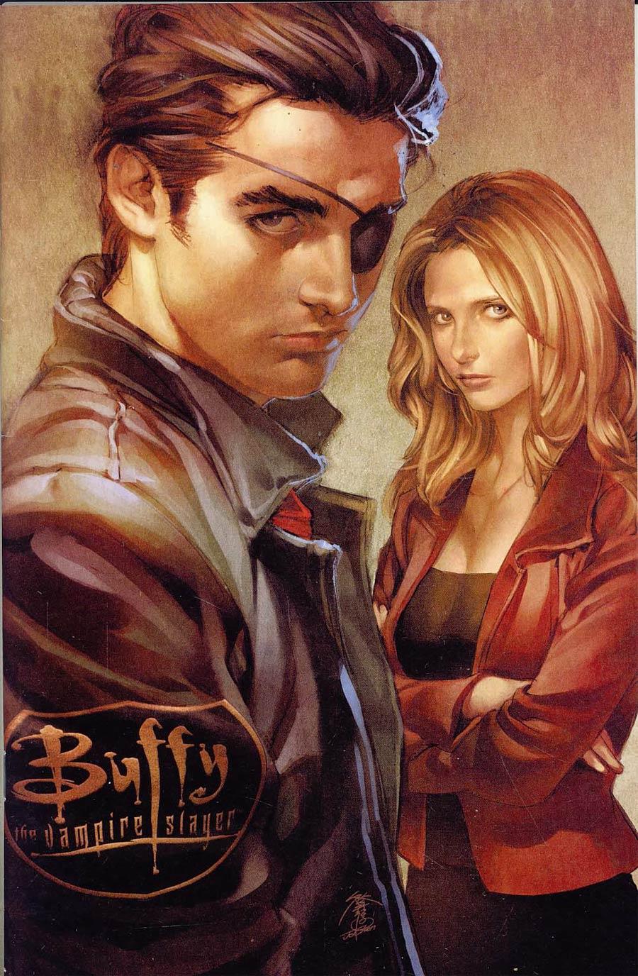 signed variant BUFFY the VAMPIRE SLAYER #1 2nd pr JO CHEN DARK HORSE joss whedon
