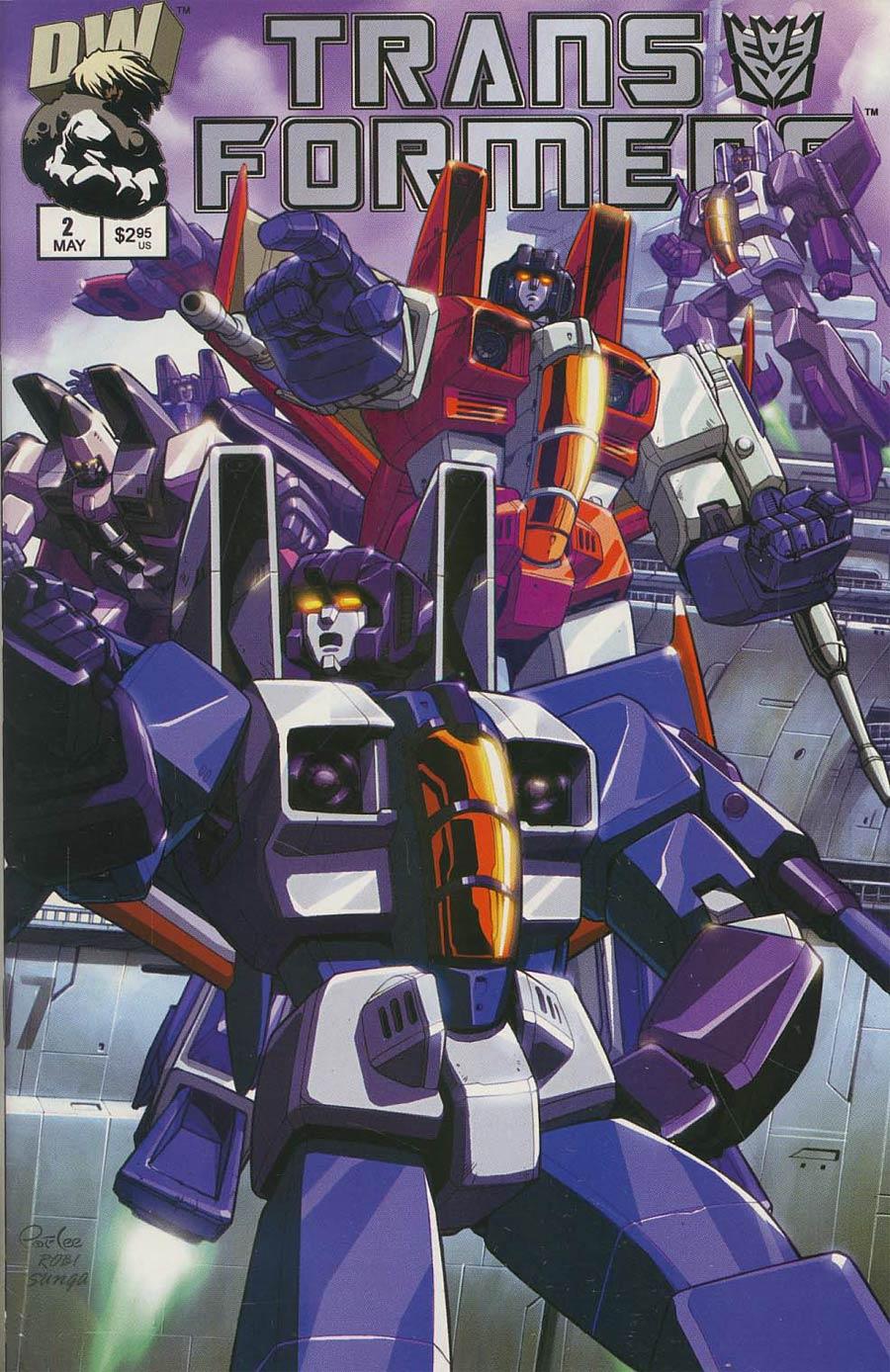 Transformers Generation 1 #2 Cover B
