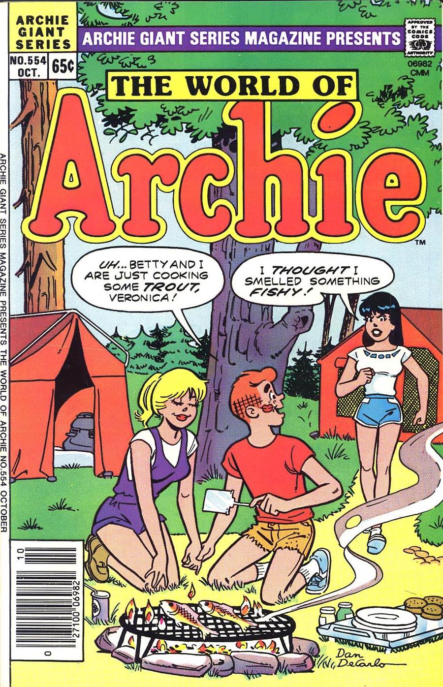 Archie Giant Series Magazine #554