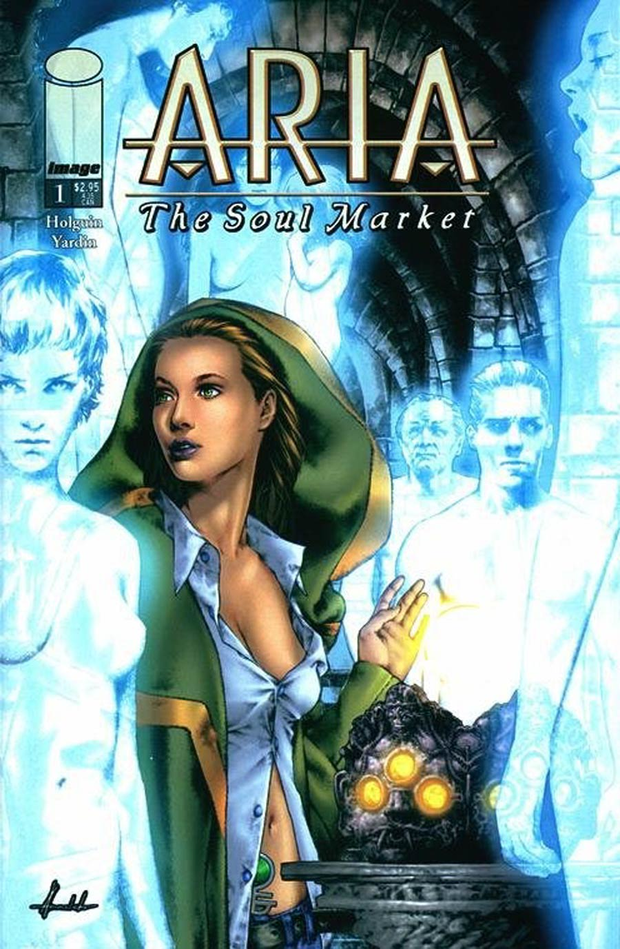 Aria The Soul Market #1 Cover A