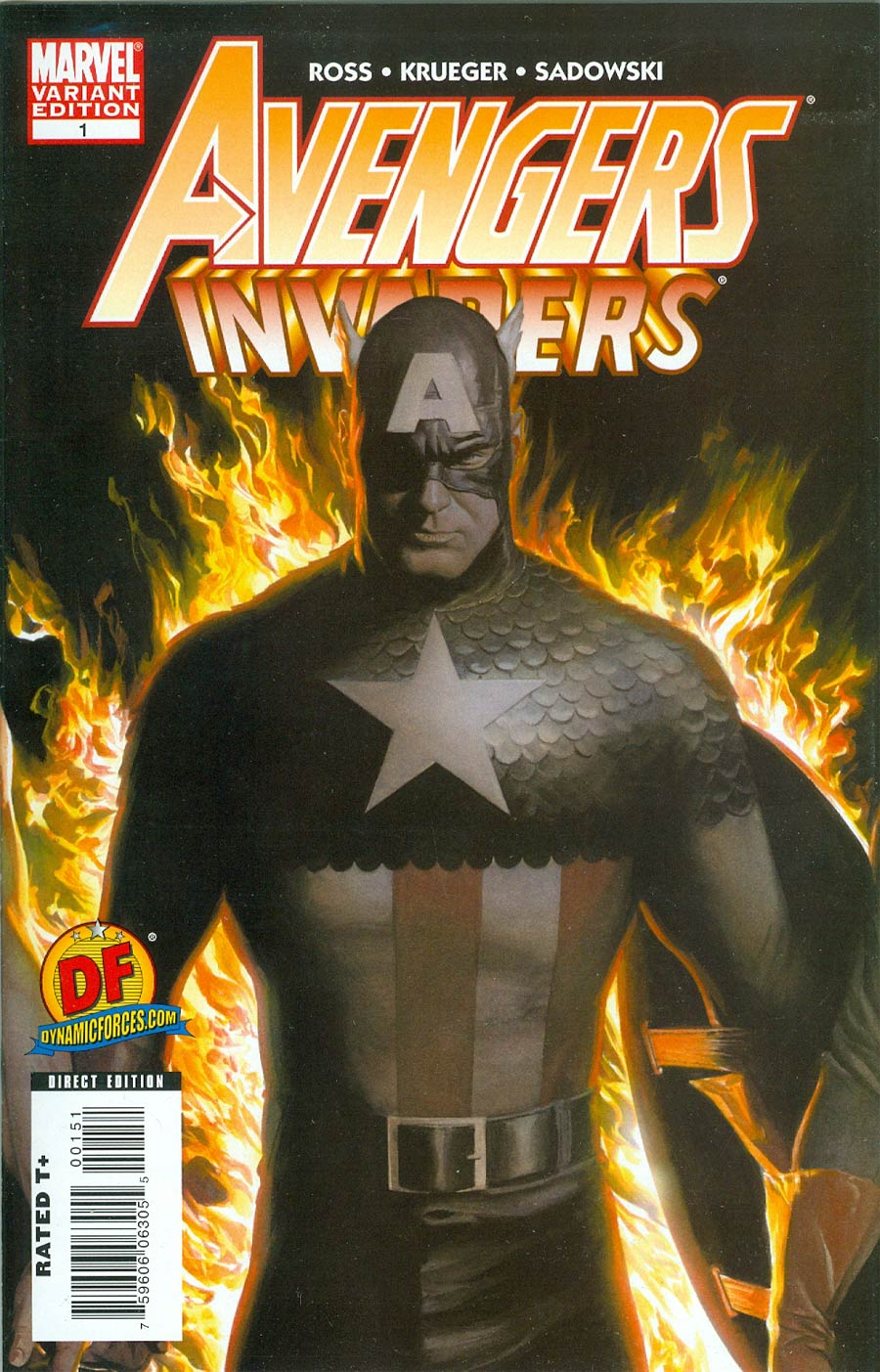 Avengers Invaders #1 DF Exclusive Alex Ross Variant Cover