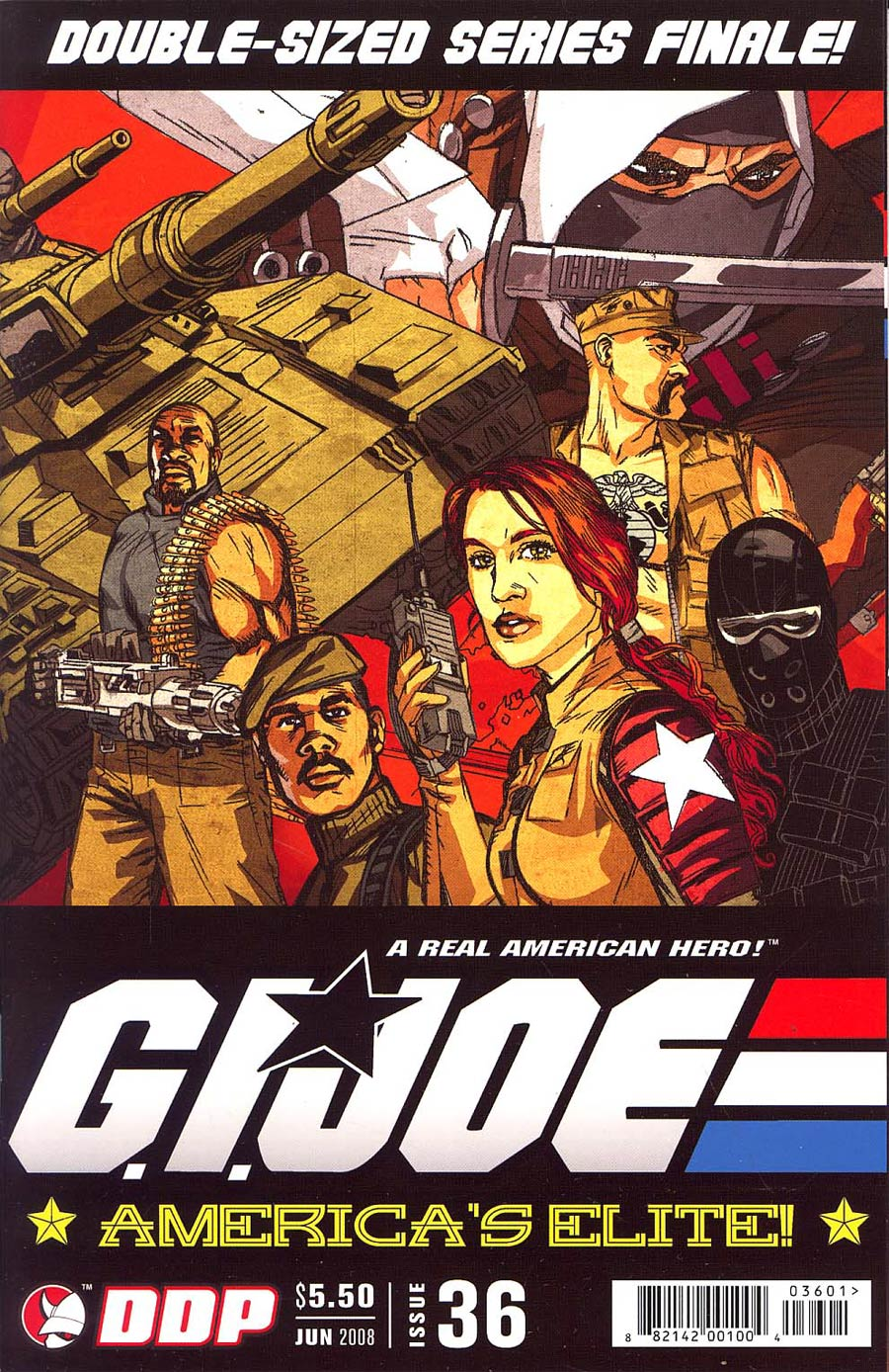 GI Joe Americas Elite #36 Regular Michael Golden Cover