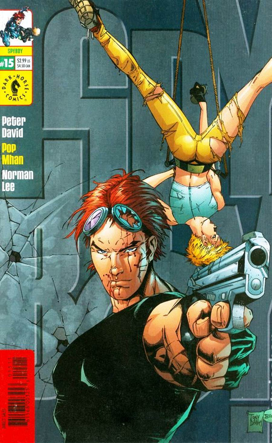 Spyboy #15 Cover B Tony Daniel