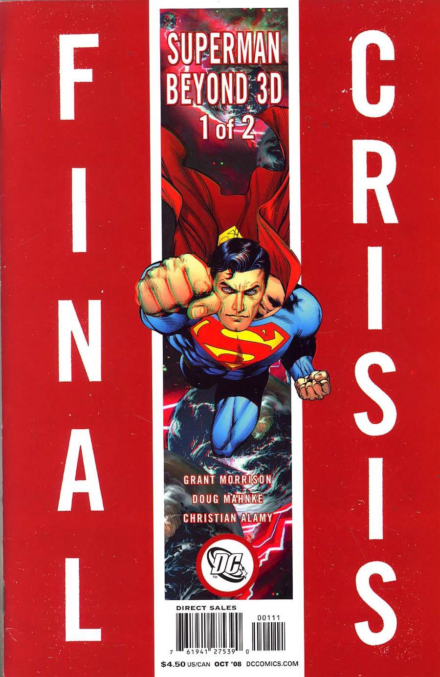 Final Crisis Superman Beyond #1 Cover B Story Sliver Doug Mahnke Cover
