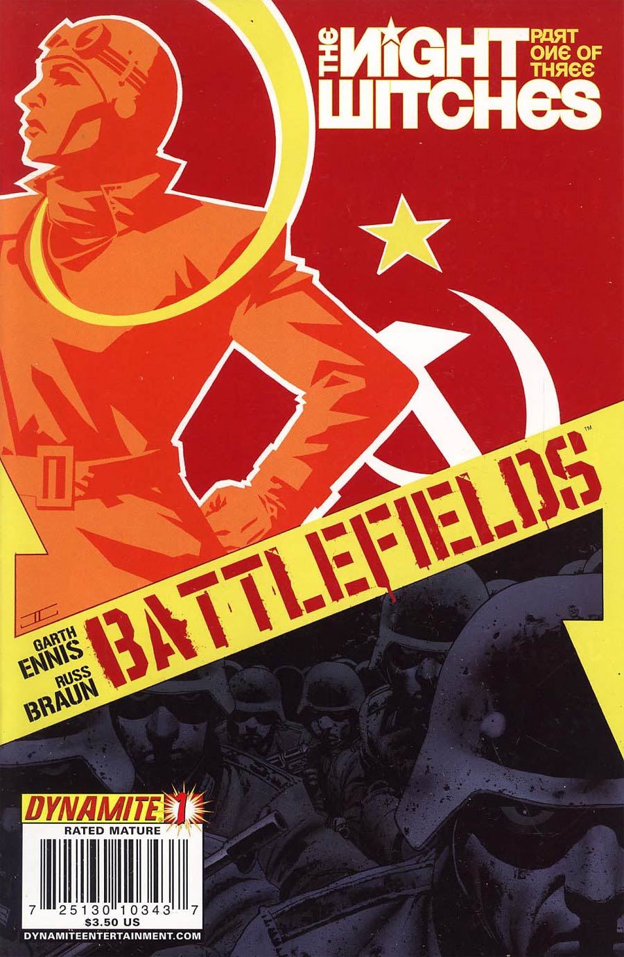 Garth Ennis Battlefields The Night Witches #1 Regular John Cassaday Cover
