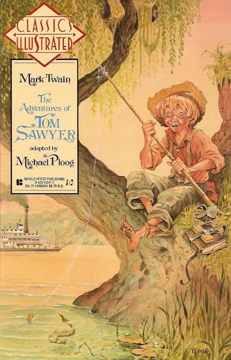 Classics Illustrated Vol 2 #9 The Adventures Of Tom Sawyer
