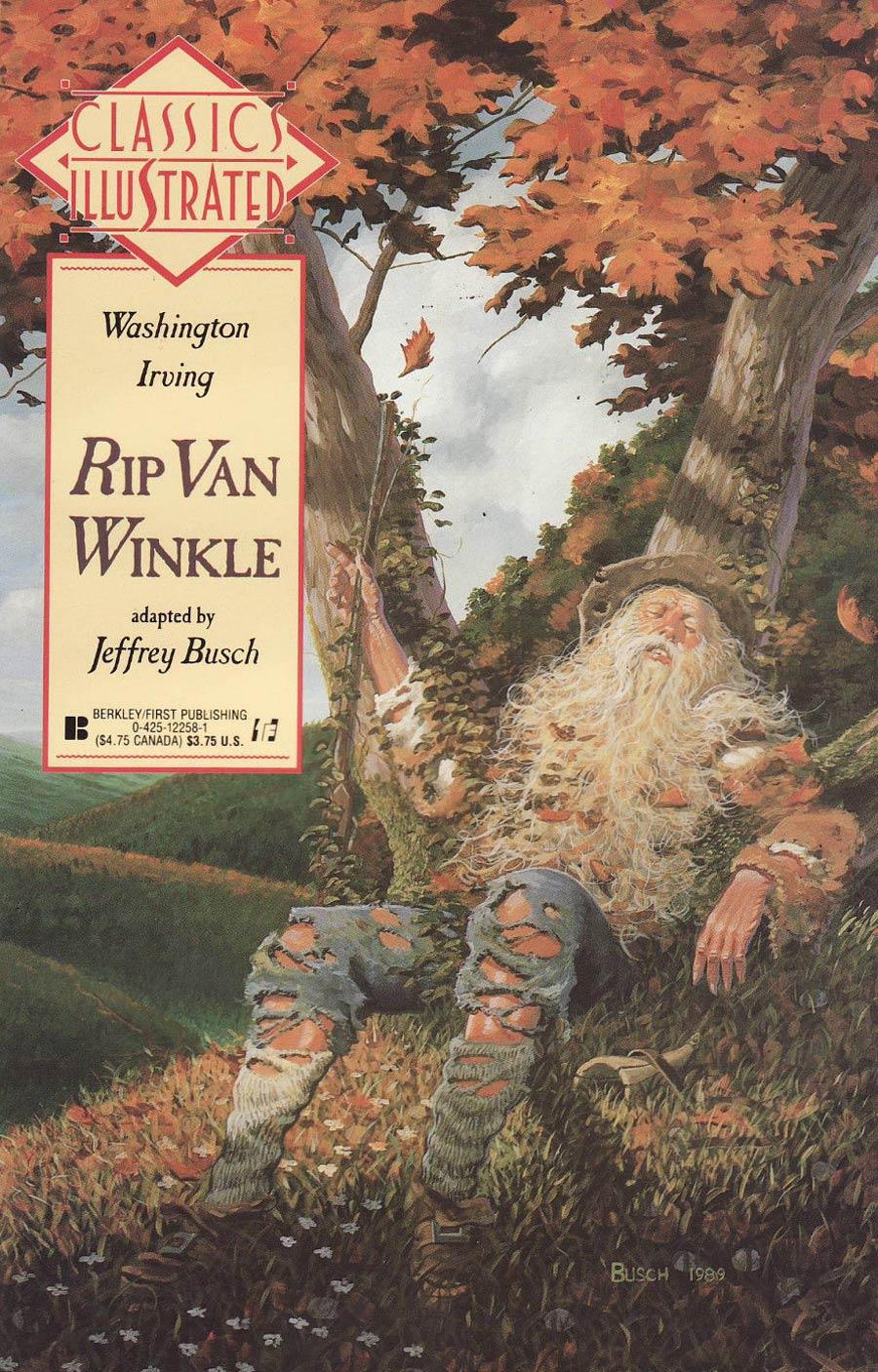 Classics Illustrated Vol 2 #11 Rip Van Winkle