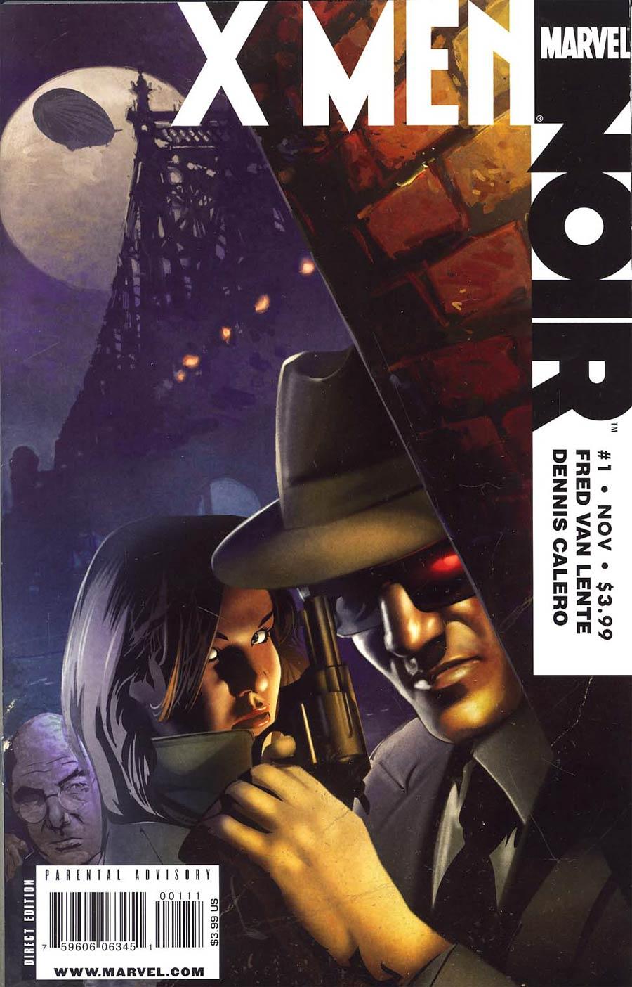 X-Men Noir #1 1st Ptg Regular Dennis Calero Cover