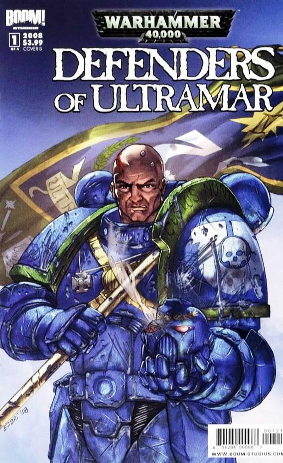 Warhammer 40K Defenders Of Ultramar #1 Cover B