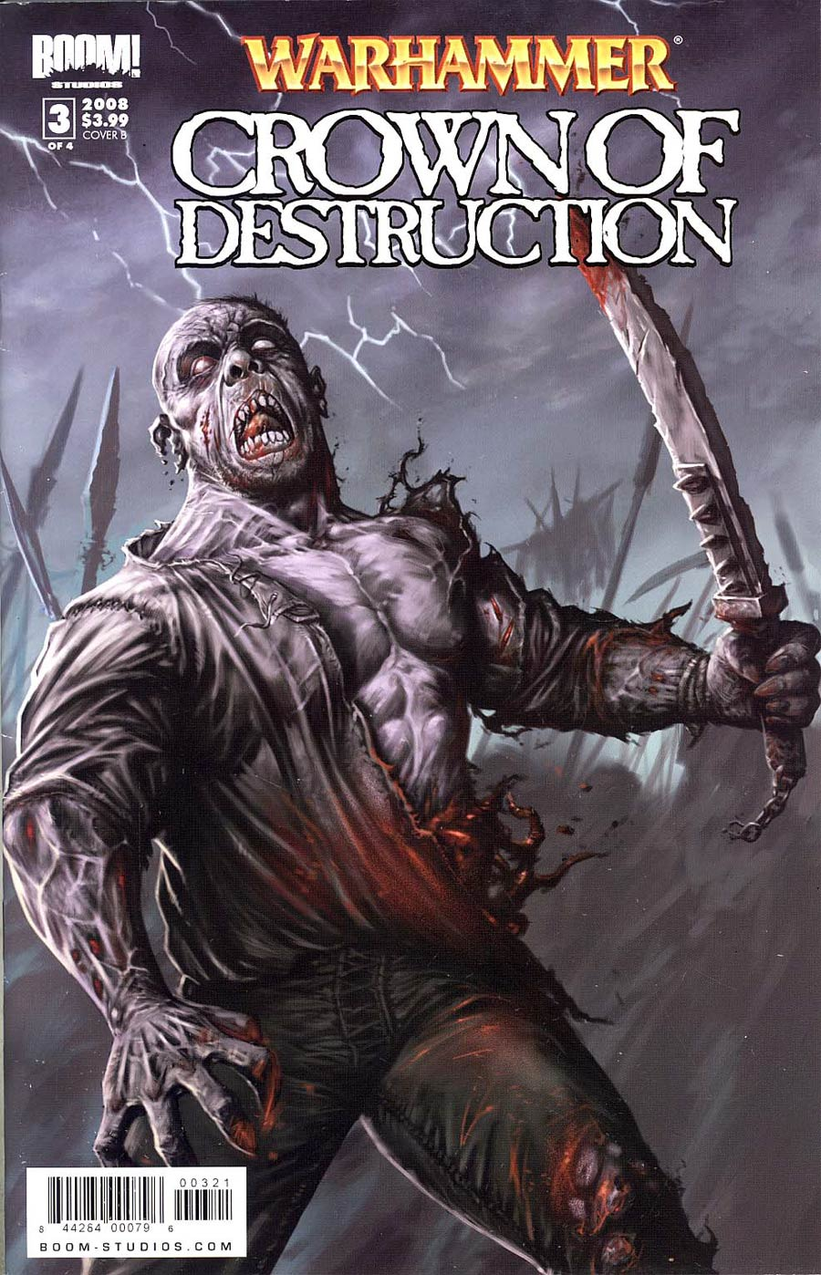 Warhammer Crown Of Destruction #3 Cover B