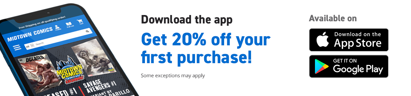 Download the app, Get 20% off your first purchase! Some exceptions may apply. Available on App Store and Google Play