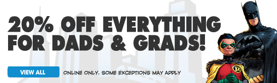 20% Off Everything for Dads & Grades!